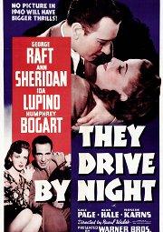 Постер Они ехали ночью