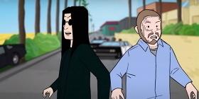 Мультяшные Оззи Осборн и Post Malone возвращаются в 70-е в клипе «It's a Raid»
