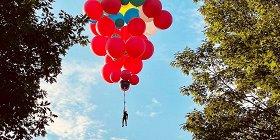 Фокусник Дэвид Блейн перелетит Гудзон на воздушных шарах