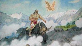 Алтайские мифы и легенды в творчестве художника Мирослава Чевалкова