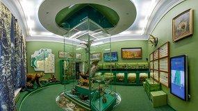 Зал природы в Тульском краеведческом музее