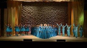 «Стежки-дорожки — 75»: Сибирский хор