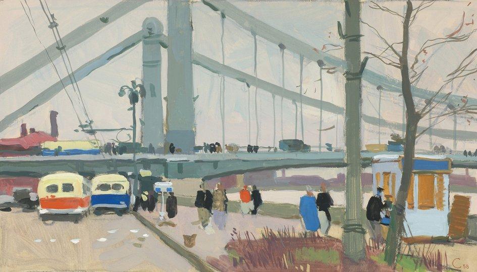 Выставки: Город и люди. Москва в графике ХХ века