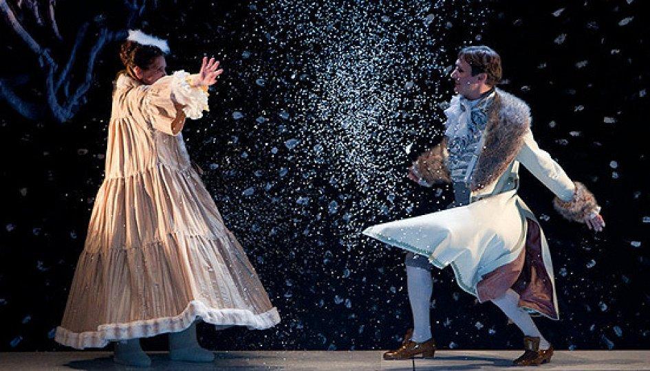 Театр: Амуры в снегу