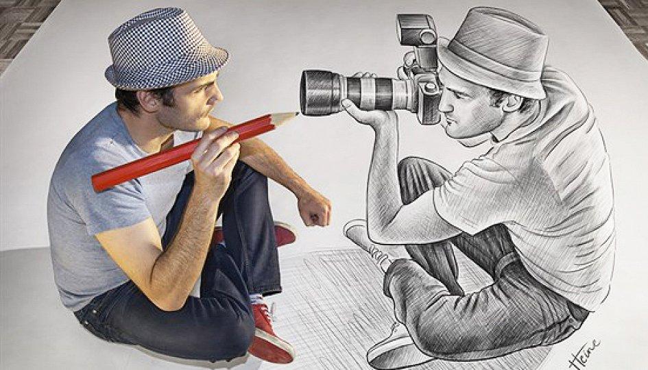 Выставки: Бен Хайне. Карандаш против камеры