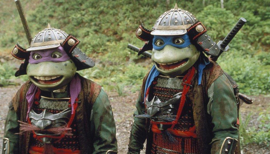 Кино: «Черепашки-ниндзя-3: Путешествие во времени»