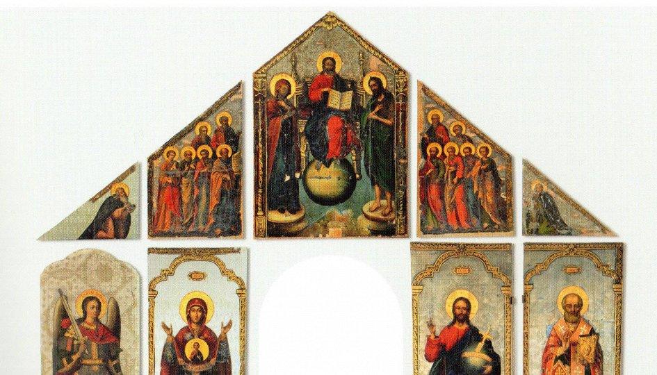 Выставки: Русская икона XVII — начала XX века в собрании Государственного музея истории Санкт-Петербурга