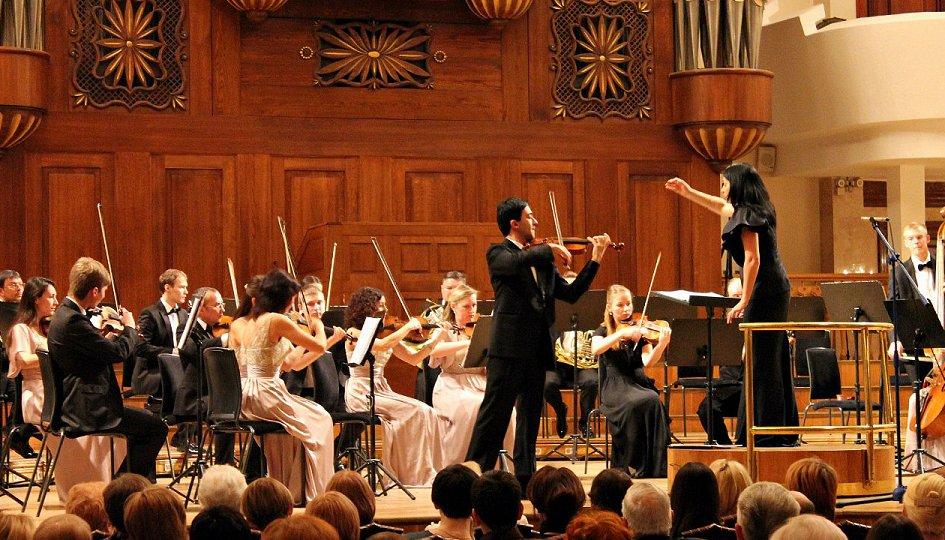 Концерты: Камерный оркестр «Новая музыка». Дирижер Анна Гулишамбарова