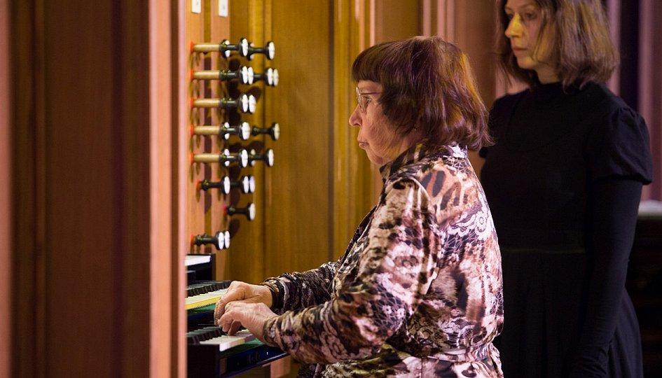 Концерты: Заряна Скульская (орган, ведущая)