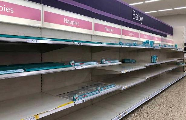 Британцы запасаются продуктами