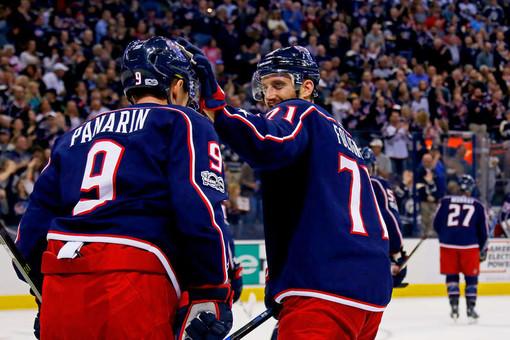 «Коламбус» разгромил «Нью-Джерси» Гусева вматче регулярного сезона НХЛ