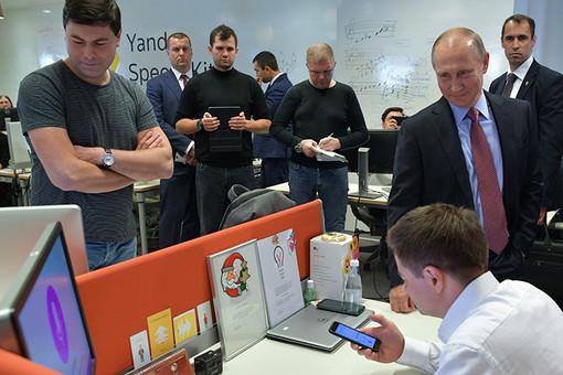 «Яндекс» покажет Путину прототип беспилотного автомобиля