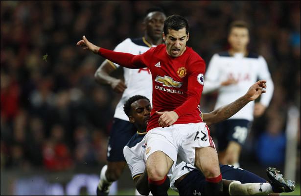 ГолМхитаряна принёс победу «Манчестер Юнайтед»