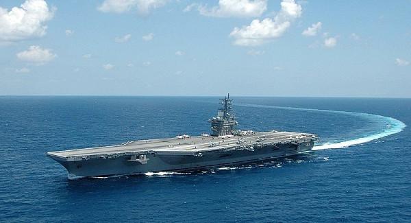 Авианосец СШАвошёл вСредиземное море