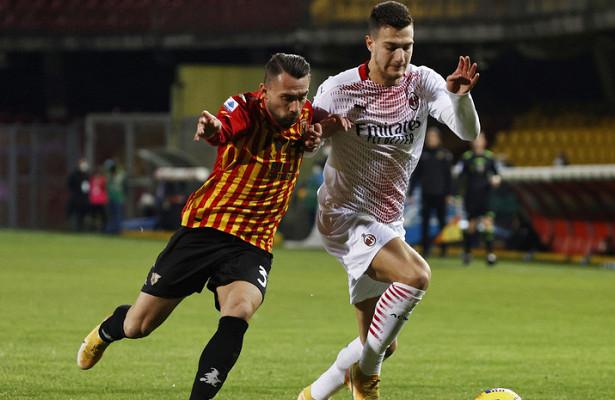 «Милан» вменьшинстве обыграл «Беневенто»