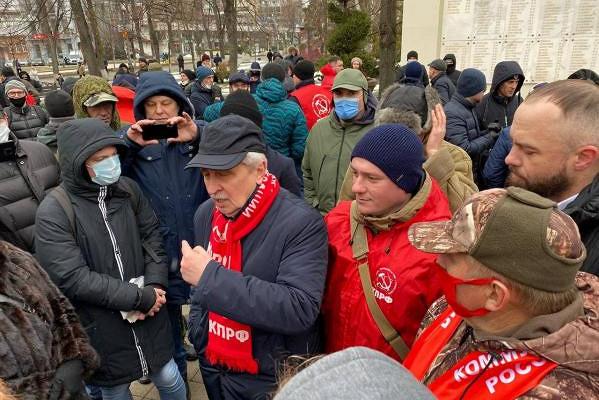 Краснодарские иростовские депутаты КПРФ провели «запретные» встречи сизбирателями