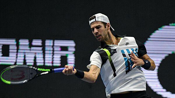 Хачанов опустился на18-еместо врейтинге ATP
