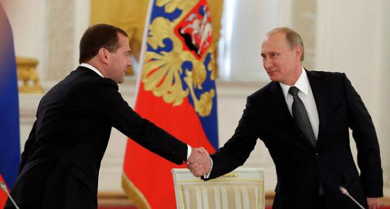 Путин погасил скандал вокруг правительства Медведева