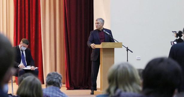 Володин предложил воссоздать педагогический колледж вАткарске