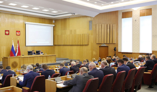 Воронежская областная Дума утвердила количество исостав постоянных комитетов