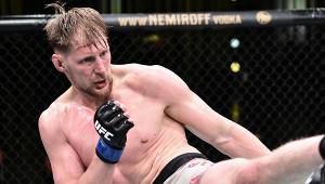 Волков опустился врейтинге тяжеловесов UFC
