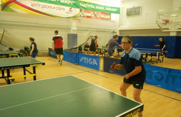 ВМоскворечье-Сабурово начались районные соревнования понастольному теннису
