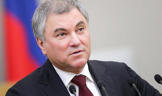 Володин вмарте планирует встретиться скиргизским коллегой Мамытовым
