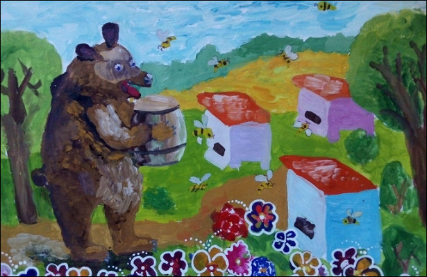 Вконкурсе «Дети рисуют Родину» меняются лидеры голосования. Смотрим, какие работы выбирают омичи
