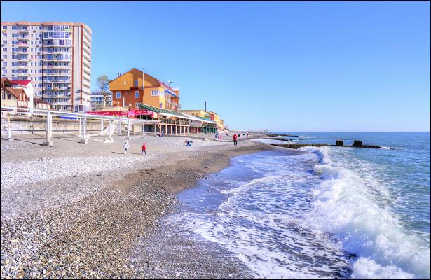 Нарусских курортах появились «зимние пляжи»