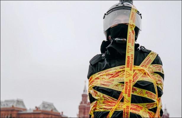 Участник акции Pussy Riot задержан вМоскве