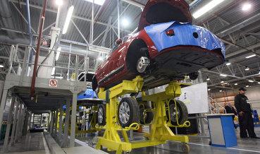 Завод Peugeot-Citroen и Mitsubishi в Калуге приостановил выпуск ряда моделей