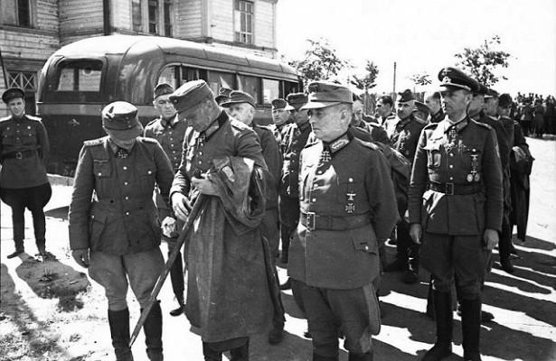 Немецкие генералы вплену Красной Армии: какихсодержали