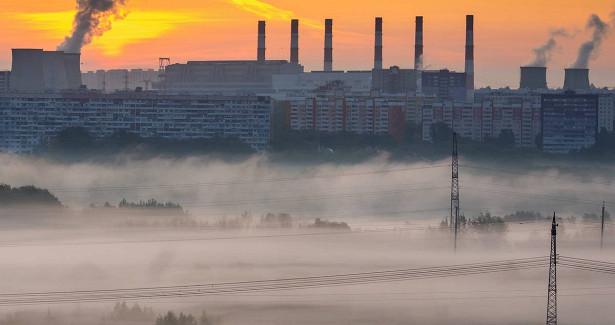 ВМЧСпредупредили осильном тумане вМоскве ночью