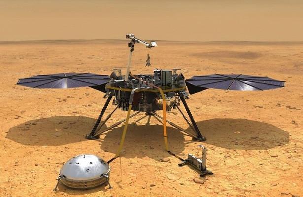 Аппарат InSight раскрыл тайны коры Марса