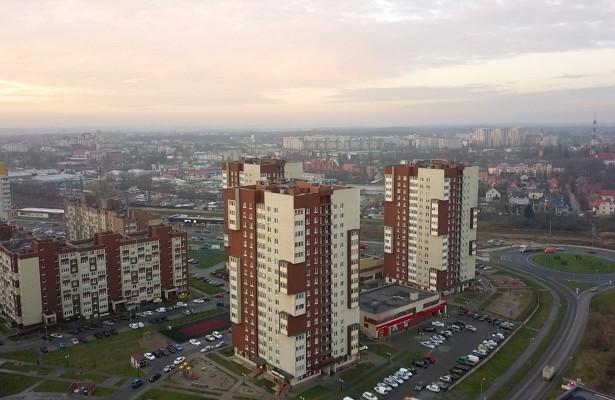 Рекорд: более 740домов построили вКалининграде вминувшем году