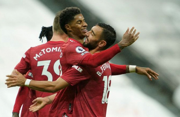 «Манчестер Юнайтед» разгромил «Ньюкасл», забив тригола впоследнюю пятиминутку