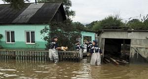 В Приморье 52 000 человек получили более 1,3 млрд рублей после тайфуна «Лайонрок»