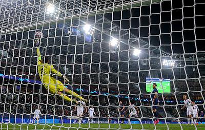 Сейв Гилерме вматче с«Атлетико» вошел всписок лучших впрошедшем туре Лиги чемпионов