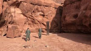 Объяснено загадочное исчезновение монолита изпустыни