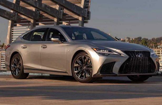 Новый Lexus LSпредставили вСША