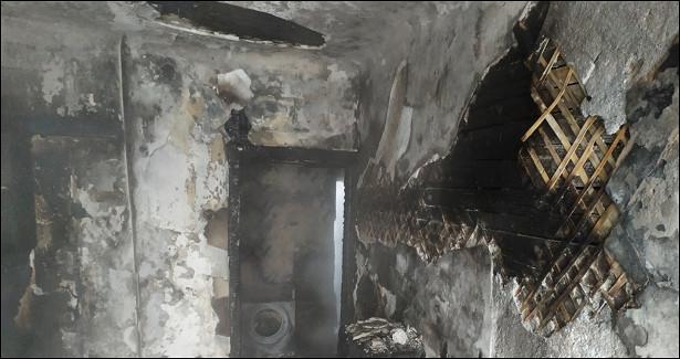Челябинец, чтобы спастись отогня, выпрыгнул счетвертого этажа