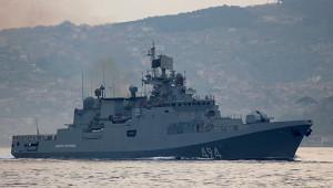 Боевой российский корабль впервые вошел впорт Судана