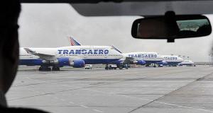 Падение акций «Трансаэро» превысило 20%