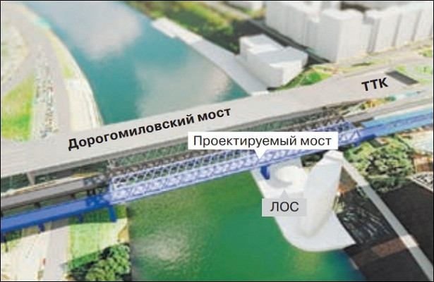 Новая эстакада появится насоединительной ветви железной дороги между Киевским направлением ЖДиМЦД-1