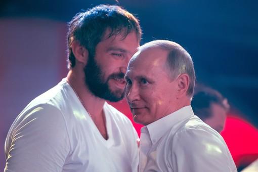 Овечкин сравнил Путина иТрампа