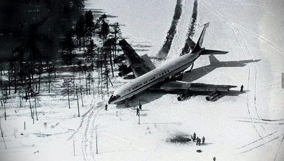 В1978 году ПВОсбила «Боинг-707», нарушивший воздушное пространство СССР