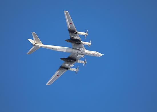 Вдальневосточном соединении дальней авиации прошли командирские полеты экипажей Ту-95МС