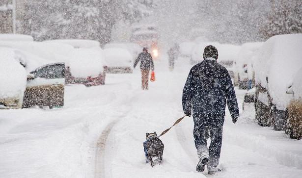 ВСимферополе ожидается сильный снегопад