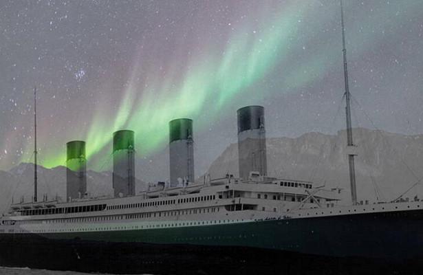 «Титаник» разбился обайсберг из-засеверного сияния?