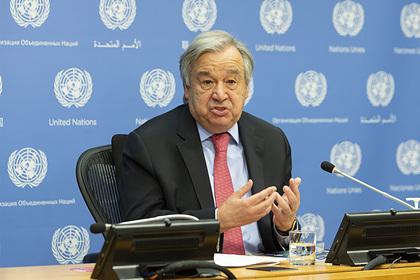 Генсек ООНраскрыл темы переговоров сЛавровым